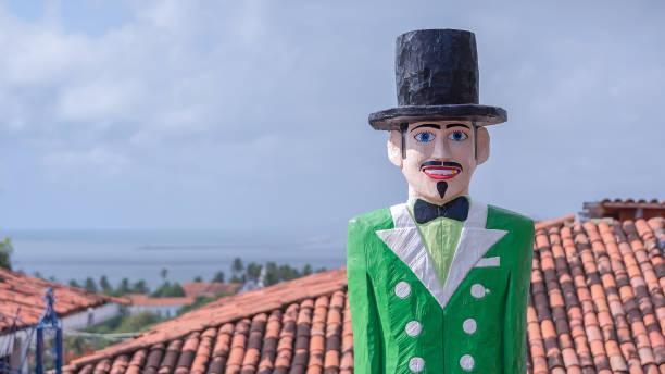 Nachbau des Midnight Man aus Stadt Olinda, Brasilien – Foto