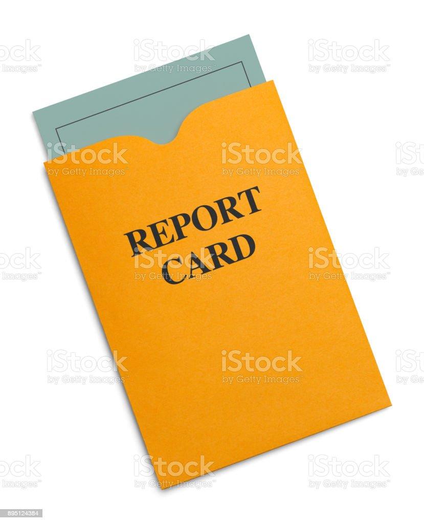 Report Card - foto stock