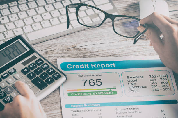 report credit score banking borrowing application risk form report credit score banking borrowing application risk form document loan business market concept - stock image borrowing stock pictures, royalty-free photos & images
