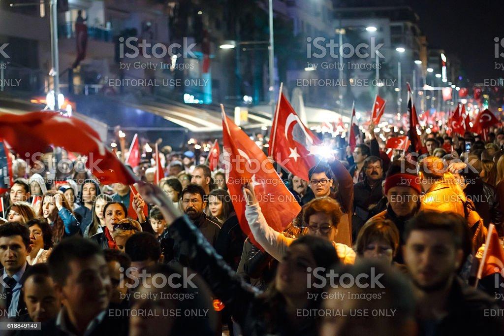Republic Day Celebrations stock photo