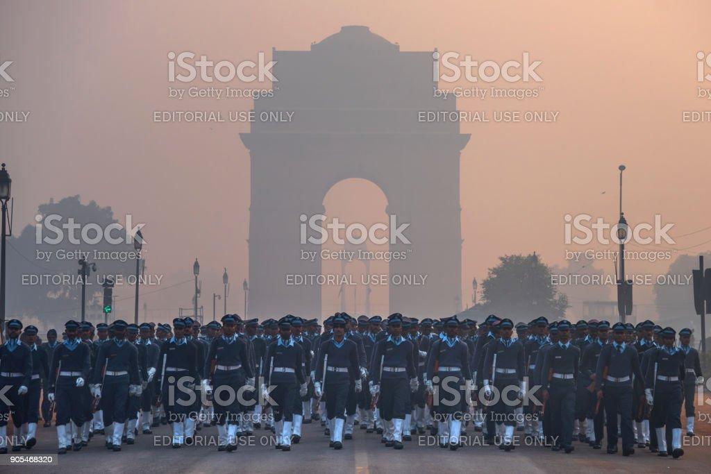 Republic Day India stock photo