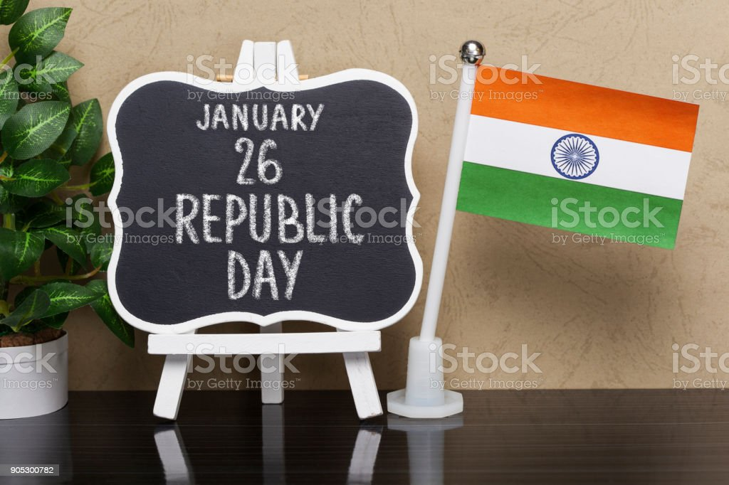 Republic Day, National Holiday in India stock photo