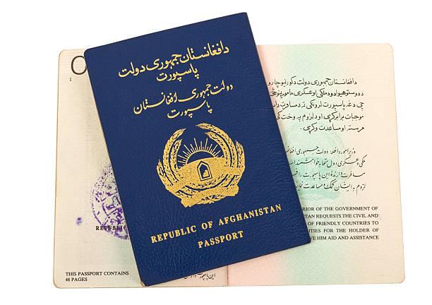 Republik Afghanistan-Passport – Foto