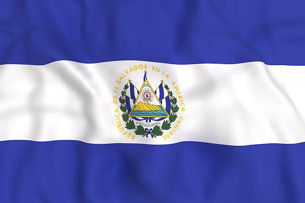 Bandera El Salvador Banco De Fotos E Imagenes De Stock Istock