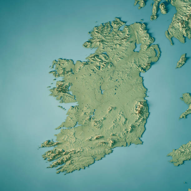 Images Of Map Of Ireland.Best Ireland Map Stock Photos Pictures Royalty Free Images Istock