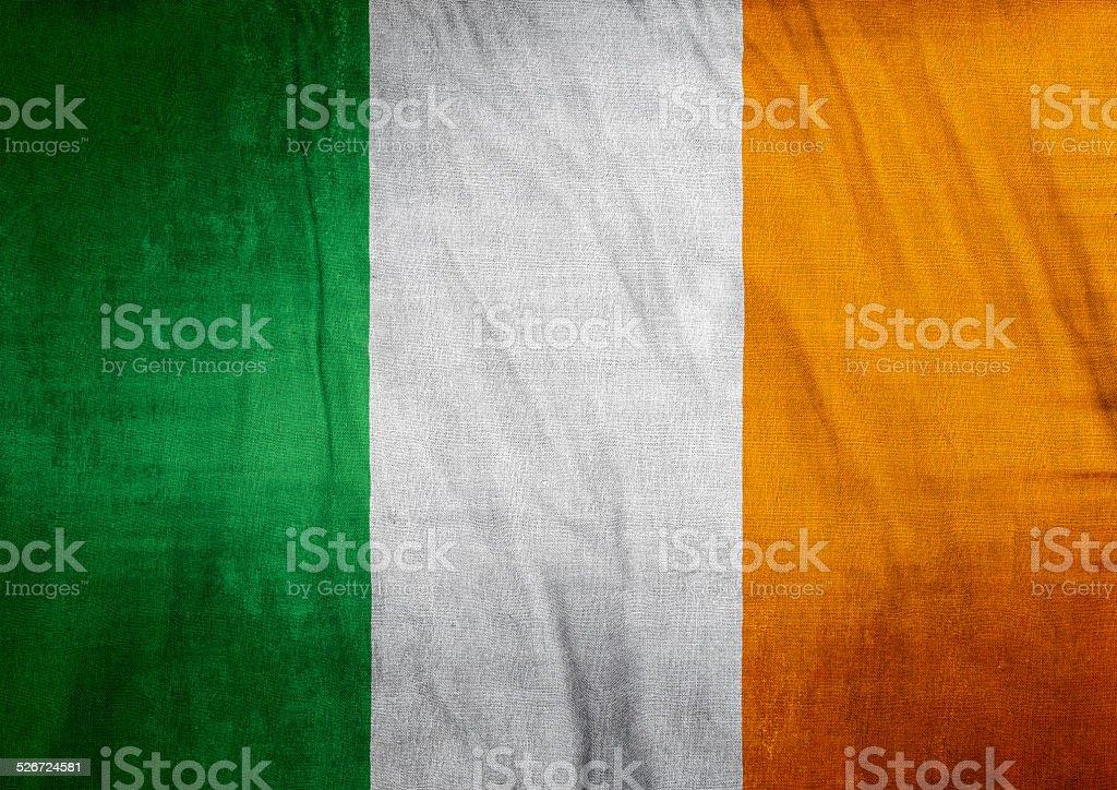 Republic of Ireland Flag stock photo