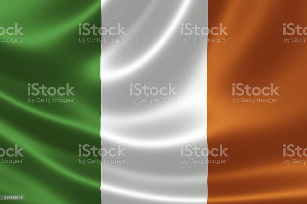 Republic of Ireland's National Flag stock photo