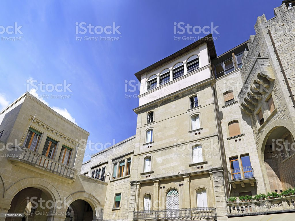 Republic of San Marino,Italy royalty-free stock photo
