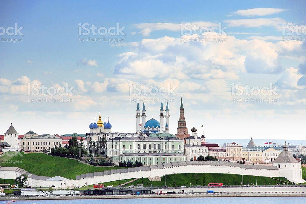 Republic of Tatarstan, Russia. the Kazan Kremlin stock photo