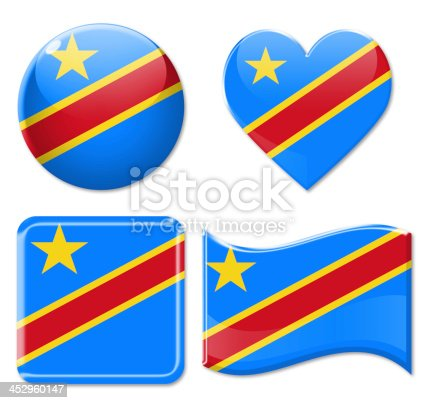 istock Republic of the Congo Flags & Icon Set 452960147