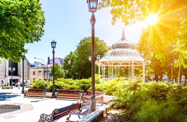 Republic Square stock photo