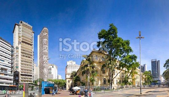 Photo of Republica Square at Sao Paulo downtown.
