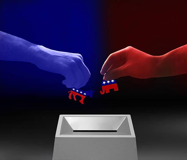 республиканская и democrat - республиканская партия сша стоковые фото и изображения