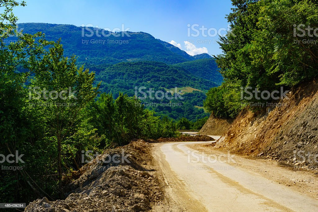 Republika Srpska Landscape stock photo