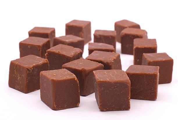 request chocolate fudge - fudge stockfoto's en -beelden