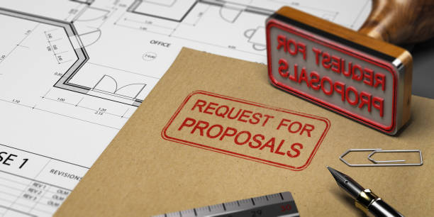 RFP, Request for Proposals stock photo