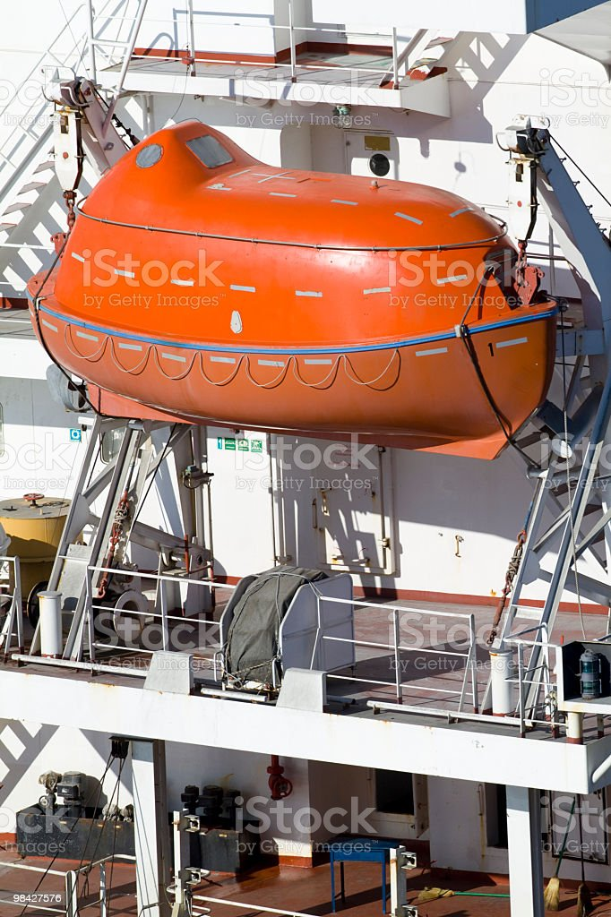 Rescue Boat royalty-free stock photo