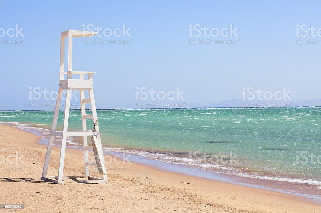 rescue buoy royalty-free stock photo
