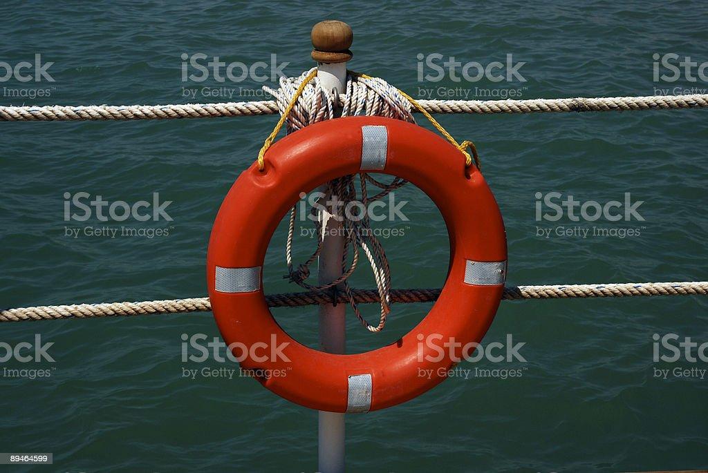 rescue circle royalty-free stock photo