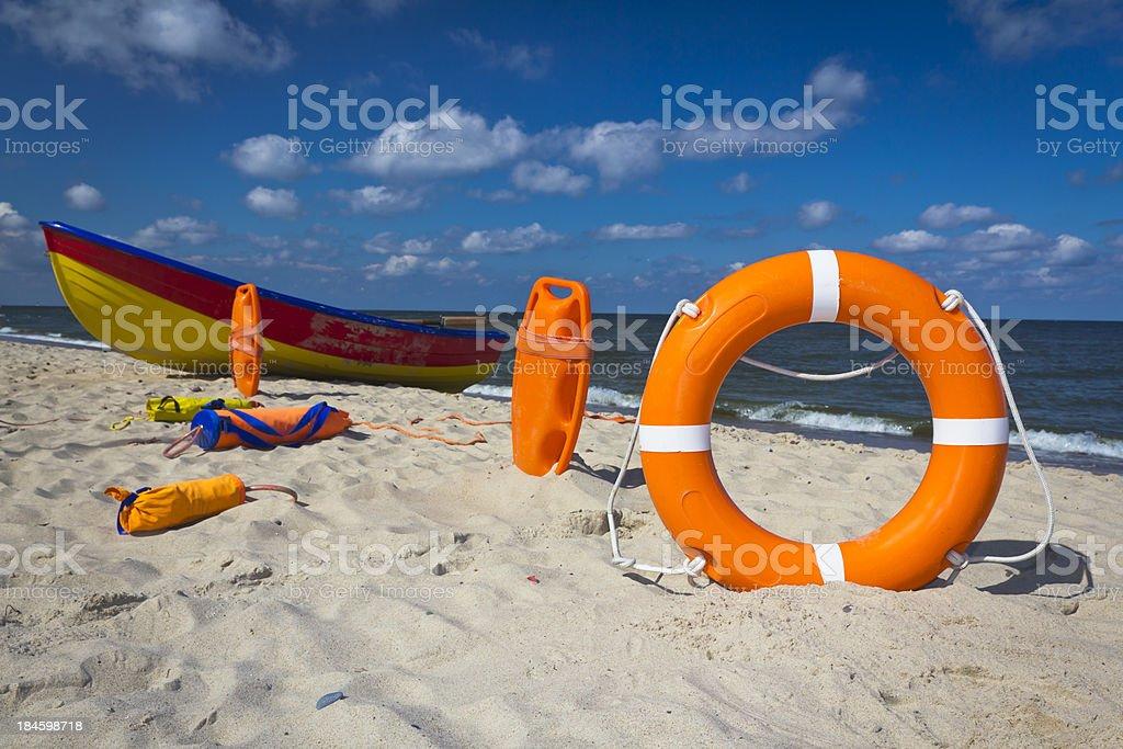 Rescue Equipment stock photo