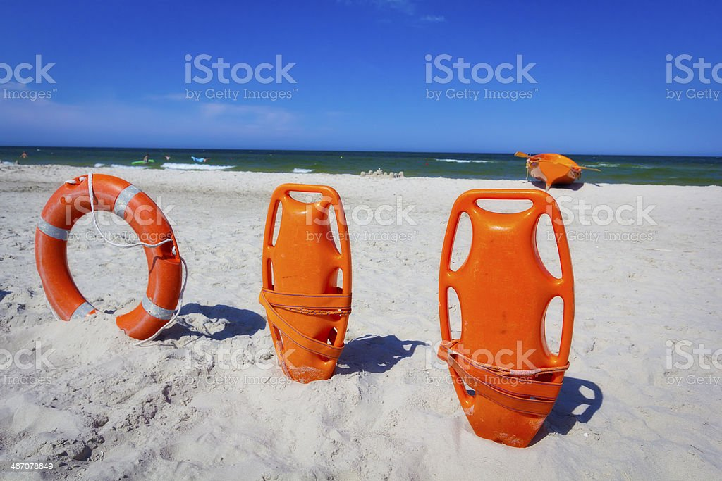 Rescue Equipment royalty-free stock photo