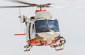 Rescue Helicopter in flight