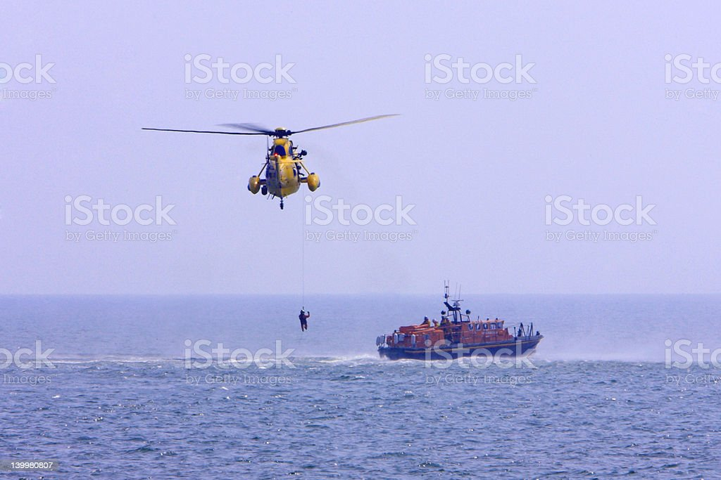 Rescue Helicopter #5 royalty-free stock photo