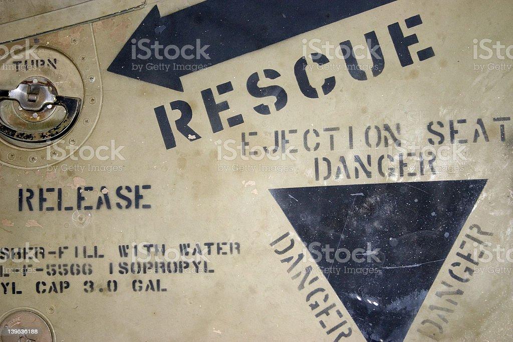 Rescue Panel royalty-free stock photo