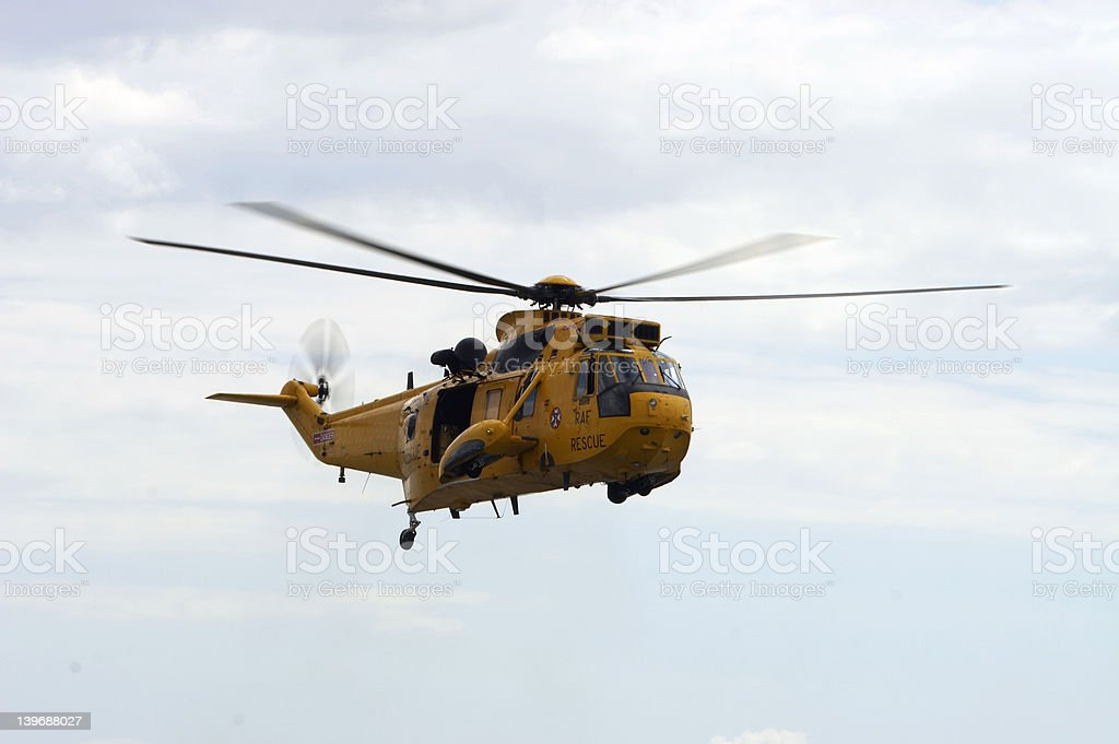 RAF Rescue royalty-free stock photo