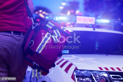 istock Rescue public service in action 519790454