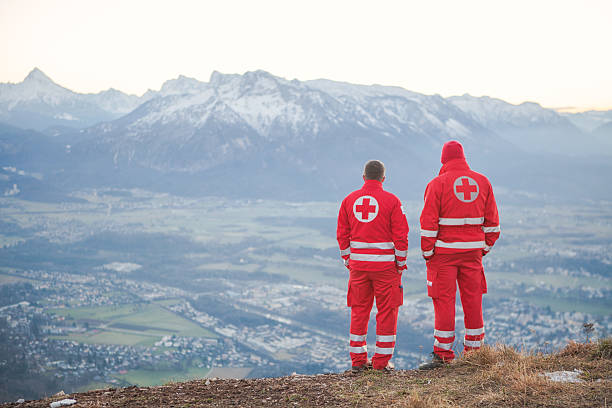 Rettung Service in den Alpen – Foto