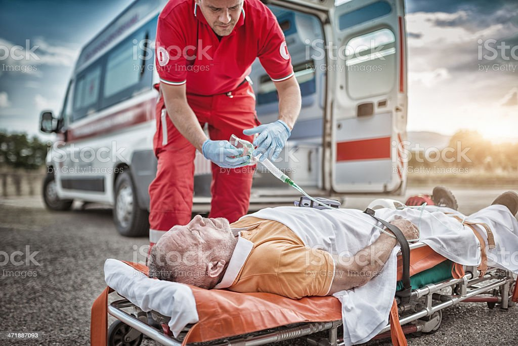 rescue team save lives royalty-free stock photo