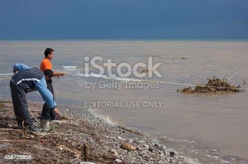 istock Rescue Work after Flood Disaster 458725855