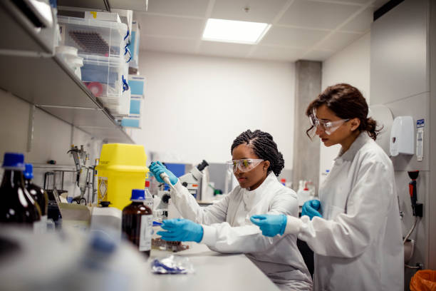 Research and Educational Laboratory stock photo
