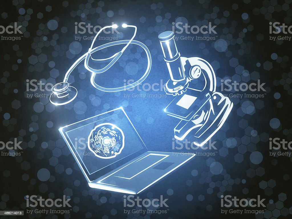 Research Cell stock photo