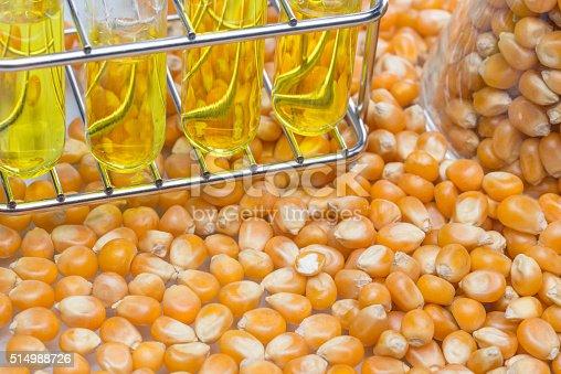 istock Research corn energy, biofuel and gmo in laboratory 514988726