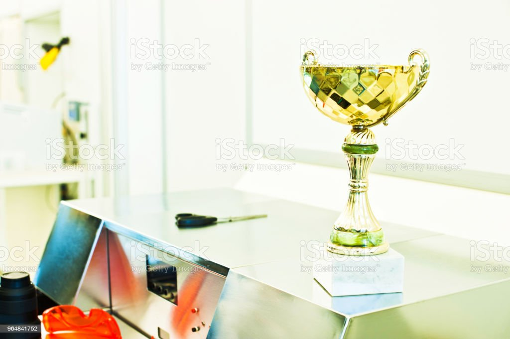 Research Institute Of The Year: Award Winning Laboratory, Factory Or Cleanroom royalty-free stock photo