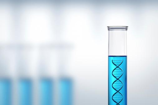 Investigación Del Adn O En Un Laboratorio De Pruebas Foto de stock y más banco de imágenes de ADN