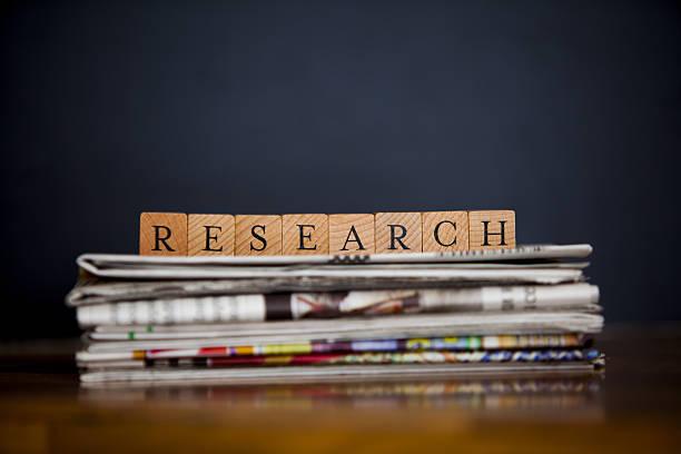 research  - publikation stock-fotos und bilder