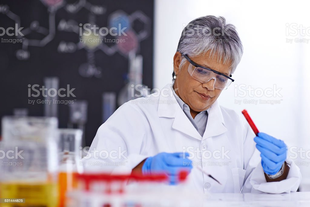 Research that will save lives stock photo