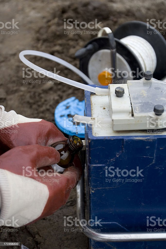 Research water royalty-free stock photo