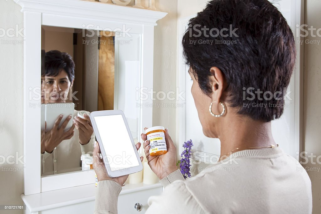 Researching Medicine stock photo