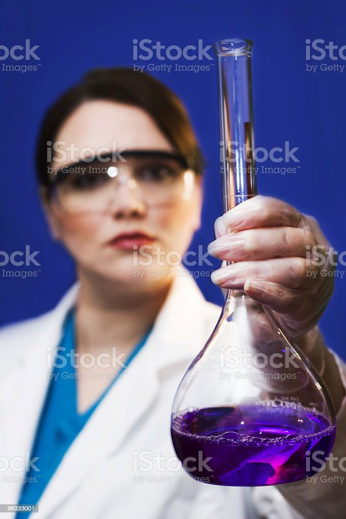 Researching royalty-free stock photo