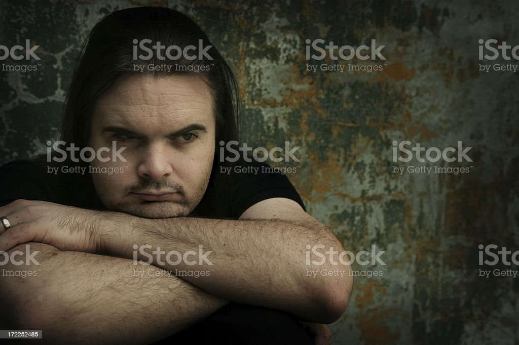 Resentment royalty-free stock photo