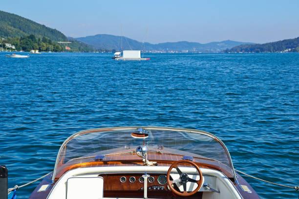 reservoir und damm am kölnbrein in österreich - wörthersee stock-fotos und bilder