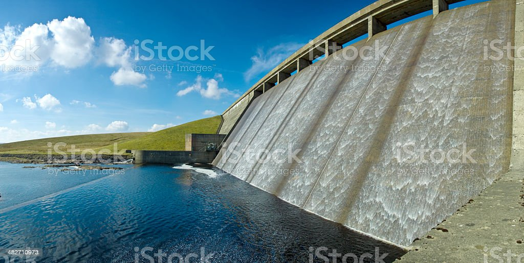 Reservoir Dam (XL) stock photo