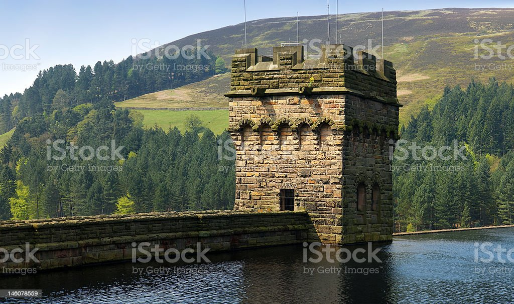 reservoir stock photo
