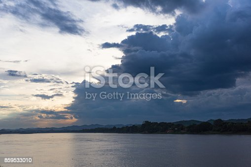 Large reservoir of Thailand