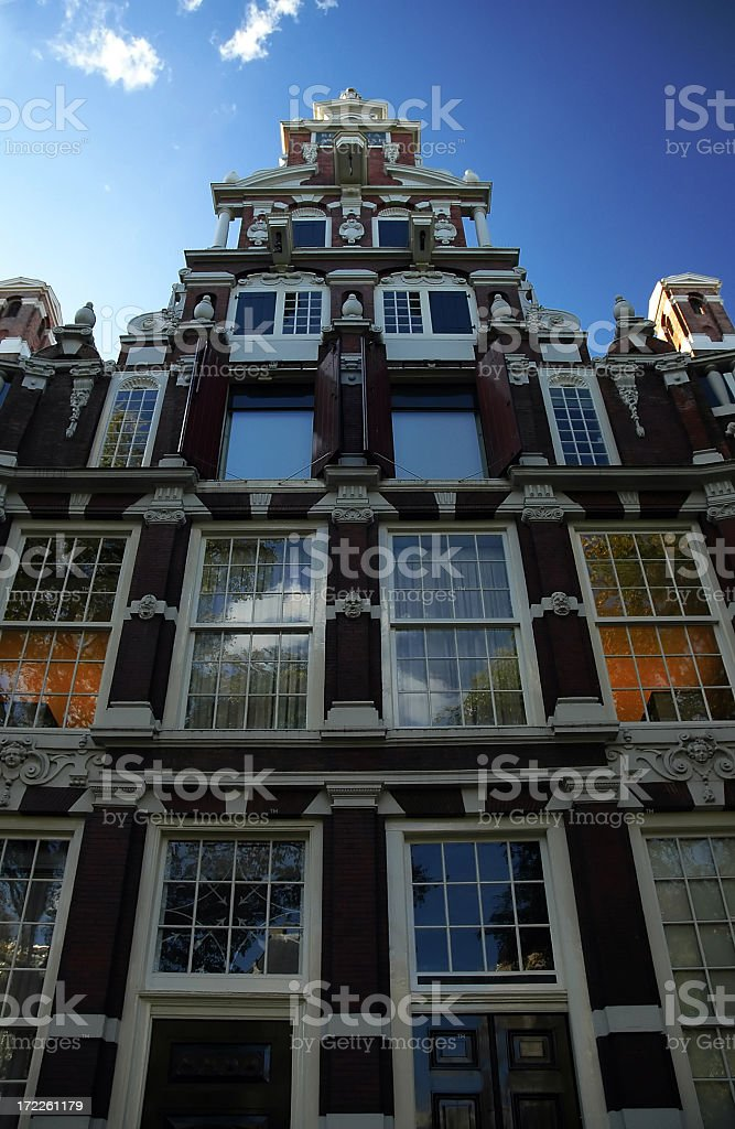 Residence in Amsterdam royalty-free stock photo