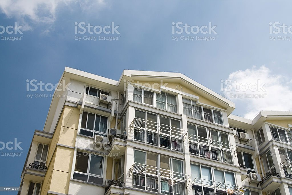 residence in China royalty-free stock photo